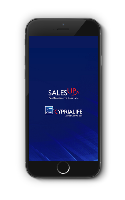 SalesUp CNP CYPRIALIFE Mobile Application